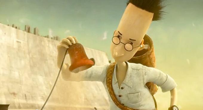 Corto d'animazione <i>The Lost Thing</i>