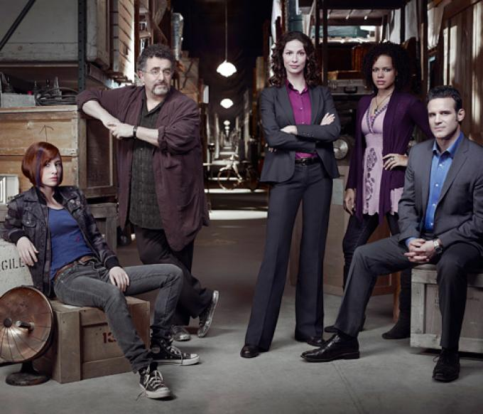 il cast di Warehouse 13