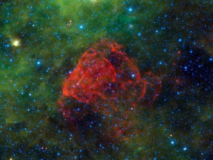 La nebulosa Puppis A