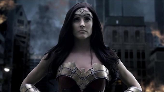 Rileah Vanderbilt nel fan film dedicato a Wonder woman
