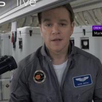 The Martian si presenta ufficialmente