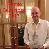 Davide Del Popolo Riolo vince il premio Cassiopea