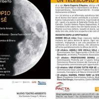 Un telescopio tutto per sé, la vita delle scienziate in scena al Nuovo Teatro Ariberto di Milano