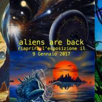 Gli alieni sono tornati… in mostra a Milano