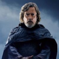 Star Wars: Gli ultimi jedi, Mark Hamill ritratta