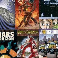 Fumetti di fantascienza, le novità in arrivo ad aprile