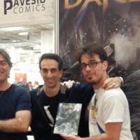 Un lupo al Salone di Torino: presentato Darek