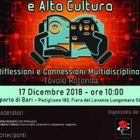 Videogame, educazione e cultura, un convegno a Bari