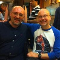Robert J. Sawyer e Vittorio Catani soci onorari di Delos Books