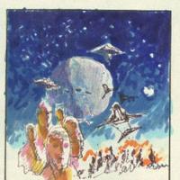 Battlestar Galactica Vs Star Wars... sulla carta...