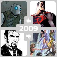 Il meglio e il peggio dei fumetti di fantascienza nel 2009