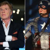 Robert Redford in Captain America: The Winter Soldier?