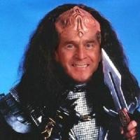 George Bush è un Klingon