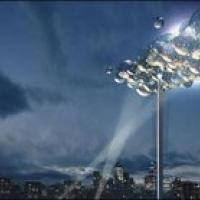 Una nuvola digitale sul cielo di Londra