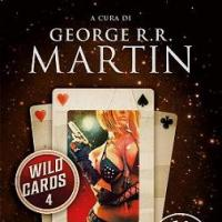Tre volumi della serie Wild Cards di George R.R. Martin